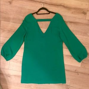 Amanda Uprichard Green Shift Dress
